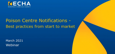 WEBINAR: Poison centre notification