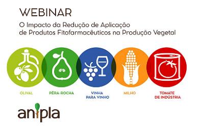 WEBINAR: O impacto da redução de aplicação de produtos fitofarmacêuticos na produção vegetal