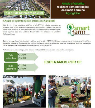 AGROGLOBAL 2021: Boas práticas agrícolas