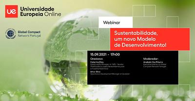 WEBINAR: Sustentabilidade, um novo modelo de desenvolvimento